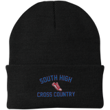 X-Country Vector Logo Outline_Pantone CP90 Port Authority Knit Cap