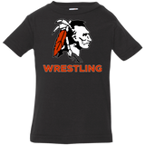 Infant T-Shirt - Cambridge Wrestling - Indian Logo