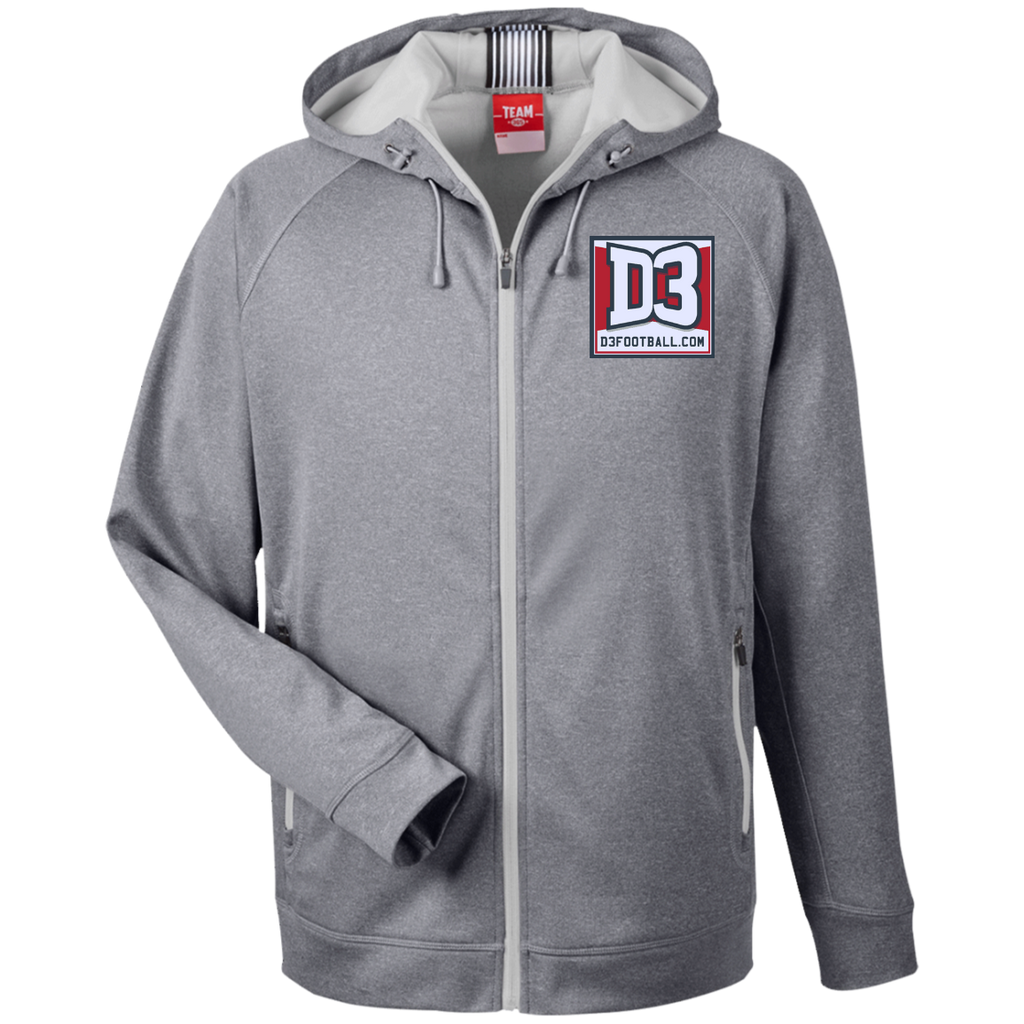 Men's Heathered Performance Jacket - D3Football.com