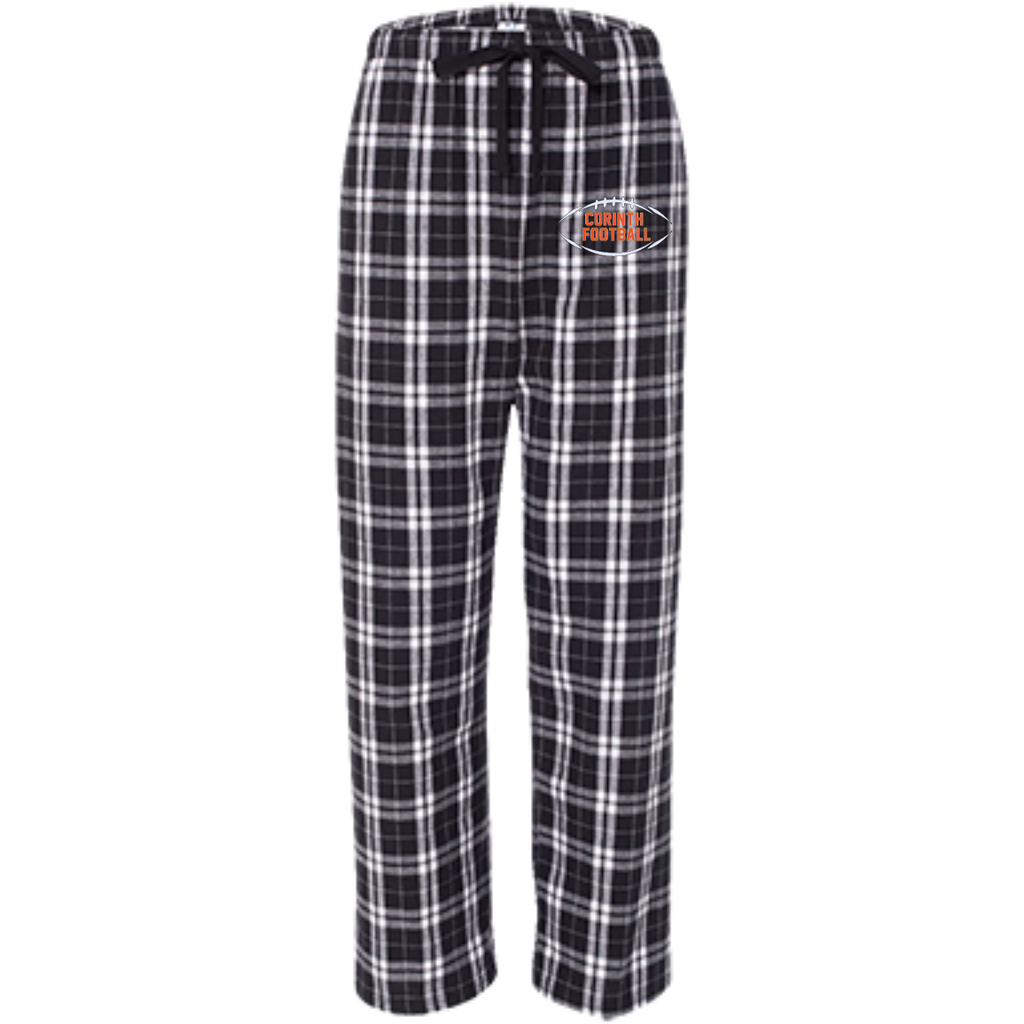 Youth Flannel Pants - Corinth Football