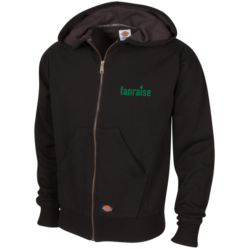 Embroidered Thermal Fleece Hoodie