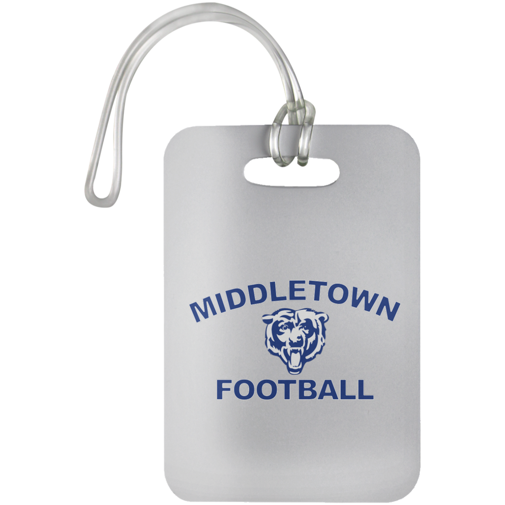 Luggage Bag Tag - Middletown Football