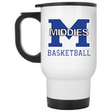 Travel Coffee Mug - Middletown Girls Basketball