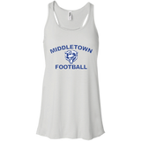 Women's Racerback Tank Top - Middletown Football