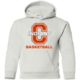 Youth Hooded Sweatshirt - Cambridge Basketball - C Logo
