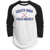3/4 Sleeve Baseball T-Shirt - South Glens Falls Field Hockey