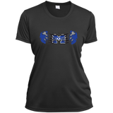 Women's Moisture Wicking T-Shirt - Middletown Unified Basketball