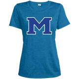 Women's Heather Moisture Wicking T-Shirt - Middletown Block