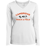 Women's Moisture Wicking Long Sleeve T-Shirt - Cambridge Track & Field