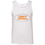 Men's Tank Top - Corinth Football