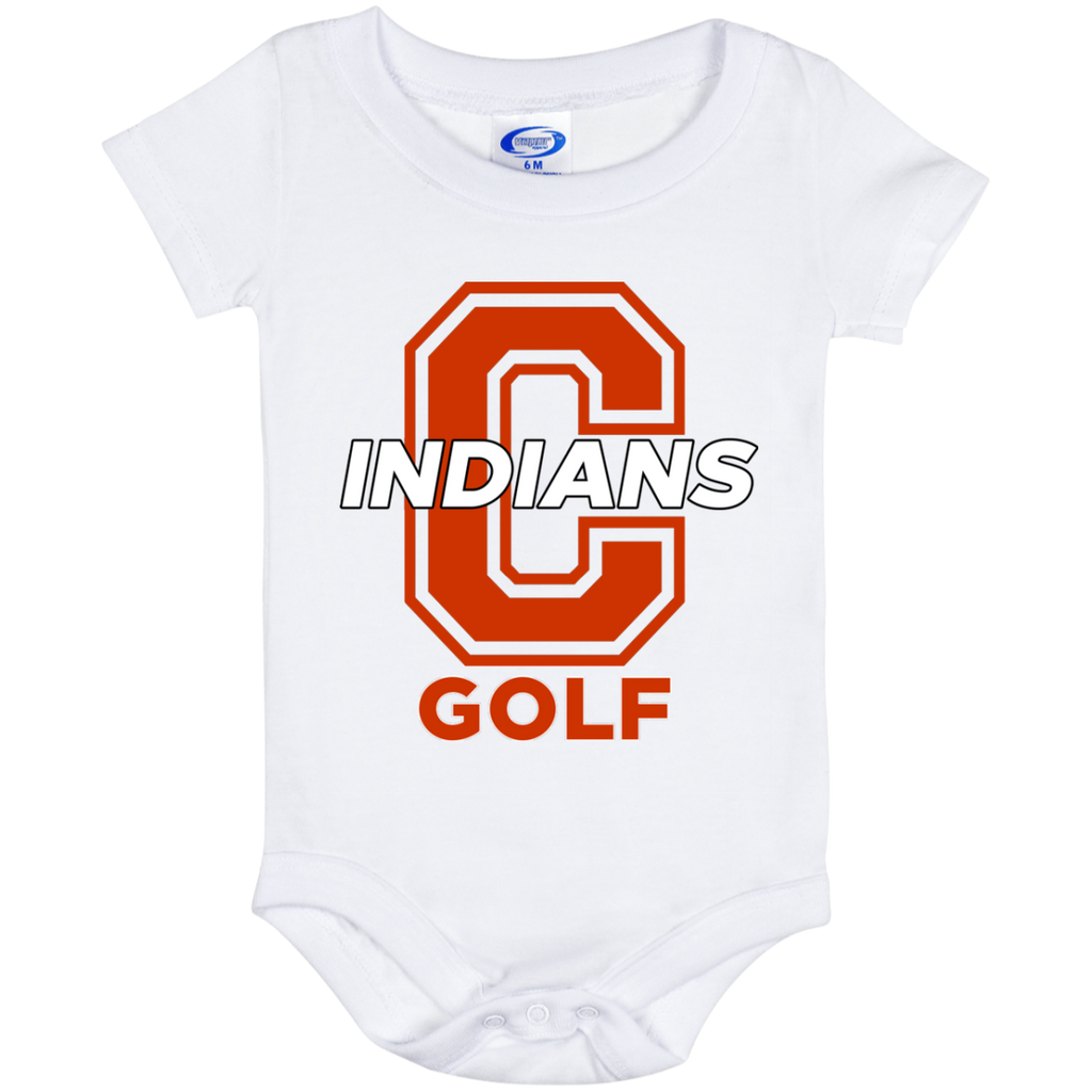 Baby Onesie 6 Month - Cambridge Golf - C Logo