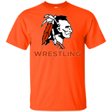 Youth Cotton T-Shirt - Cambridge Wrestling - Indian Logo