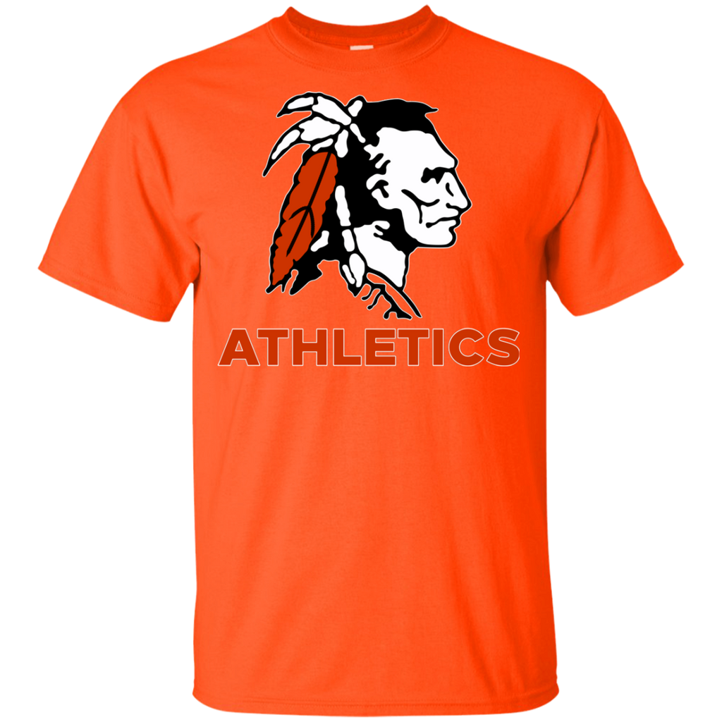 Youth Cotton T-Shirt - Cambridge Athletics - Indian Logo