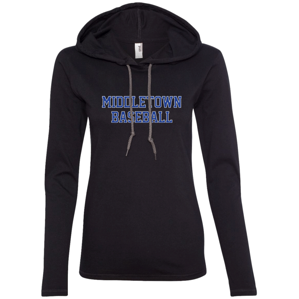 Women's T-Shirt Hoodie - Middletown Baseball