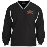 Colorblock V-Neck Pullover - Corinth Football