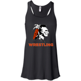 Women's Racerback Tank Top - Cambridge Wrestling - Indian Logo