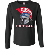 Women's Long Sleeve T-Shirt - Goshen Football