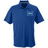 Men's Solid Moisture Wicking Polo - Middletown Middies