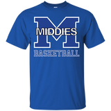 Men's Cotton T-Shirt - Middletown Girls Basketball