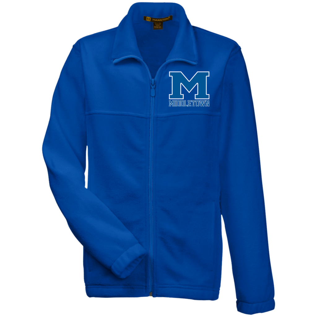 "Youth Full-Zip Fleece - Middletown ""M"""