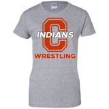 Women's Cotton T-Shirt - Cambridge Wrestling - C Logo