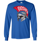 Men's Long Sleeve T-Shirt - Goshen Helmet