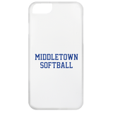 iPhone 6 Case - Middletown Softball - Block Logo