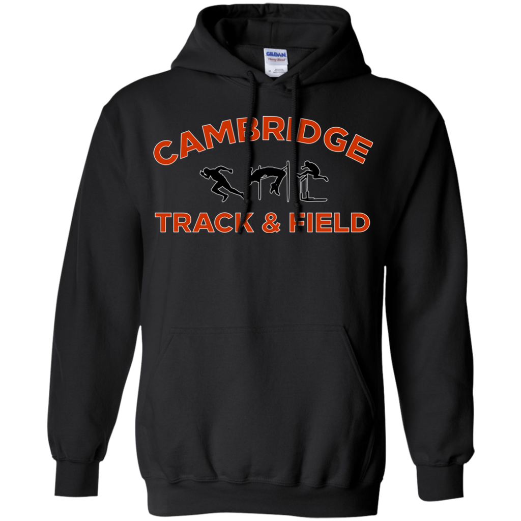 Men's Hooded Sweatshirt - Cambridge Track & Field