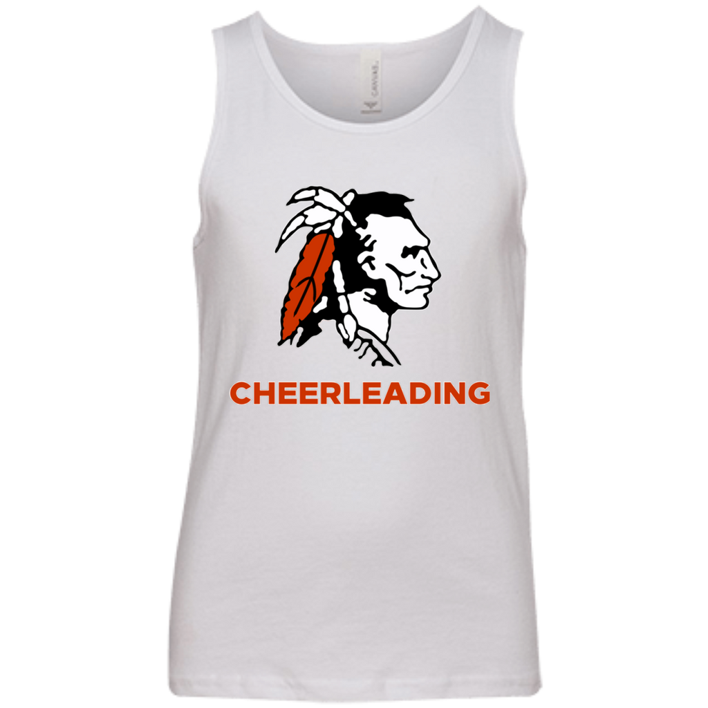 Youth Tank Top - Cambridge Cheerleading - Indian Logo