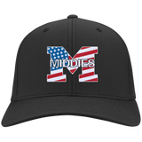 Flex Fit Twill Hat - Middletown American Flag