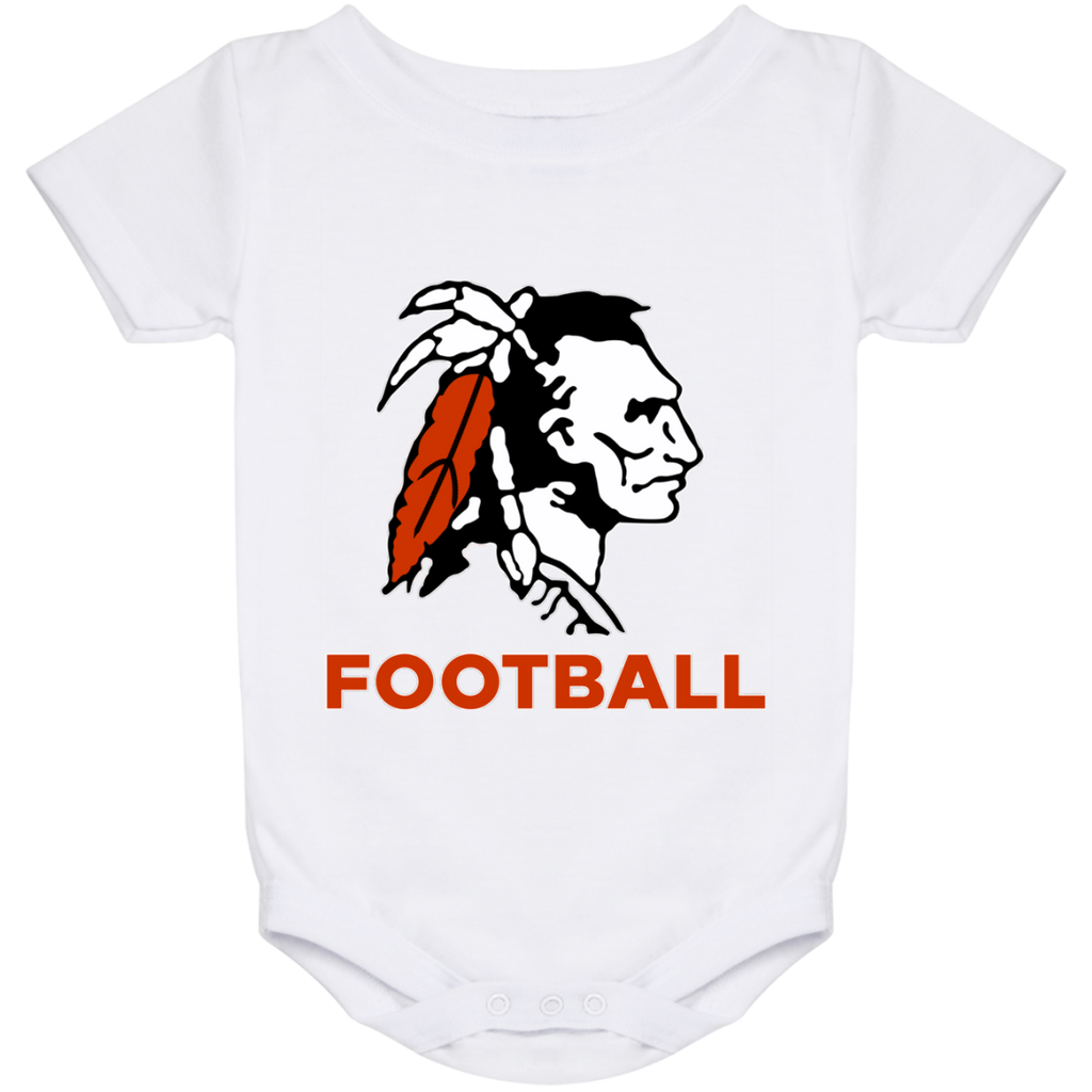 Baby Onesie 24 Month - Cambridge Football - Indian Logo