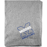 Sweatshirt Blanket - Middletown Wrestling