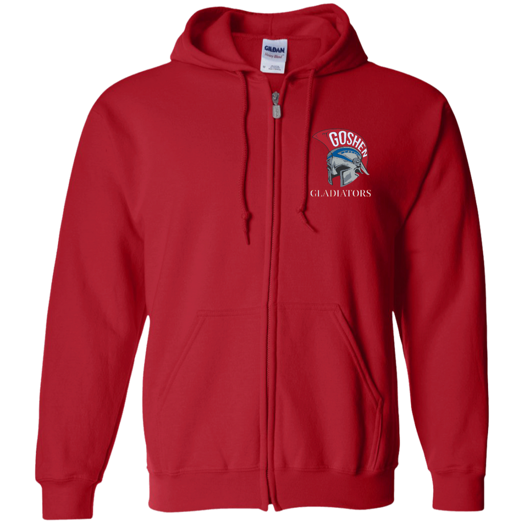Men's Full-Zip Hooded Sweatshirt - Goshen Gladiators