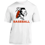 Youth Moisture Wicking T-Shirt - Cambridge Baseball - Indian Logo