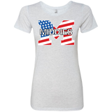 Women's Premium T-Shirt - Middletown American Flag