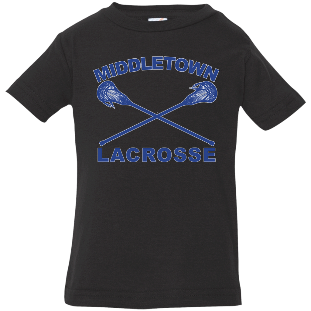 Infant T-Shirt - Middletown Girls Lacrosse - Sticks Logo
