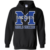Men's Hooded Sweatshirt - Middletown Middie Girls Soccer