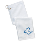 Golf Towel - Middletown Girls Lacrosse - Sticks Logo