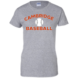 Women's Cotton T-Shirt - Cambridge Baseball