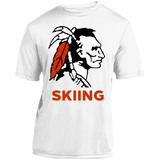 Youth Moisture Wicking T-Shirt - Cambridge Skiing - Indian Logo
