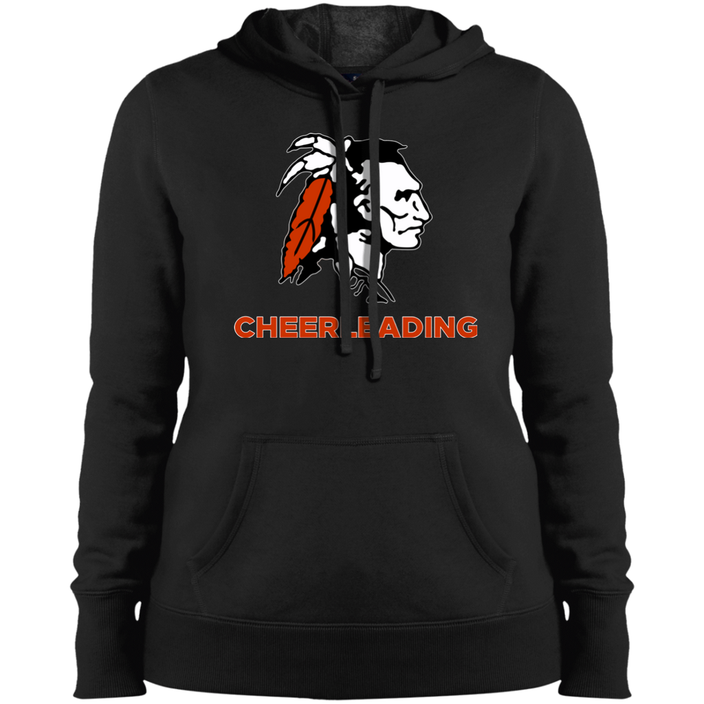 Women's Hooded Sweatshirt - Cambridge Cheerleading - Indian Logo
