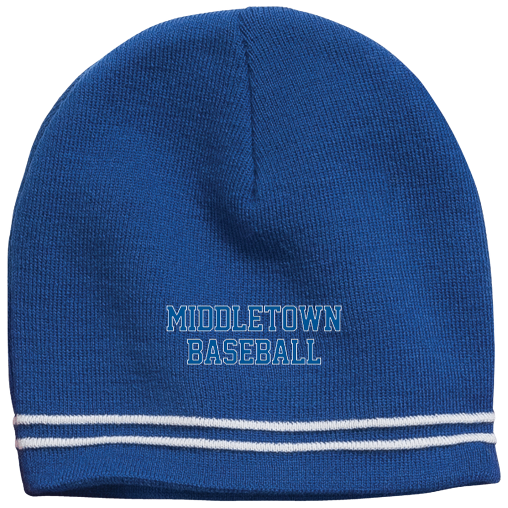 Colorblock Beanie - Middletown Baseball