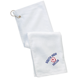 Golf Towel - South Glens Falls Soccer