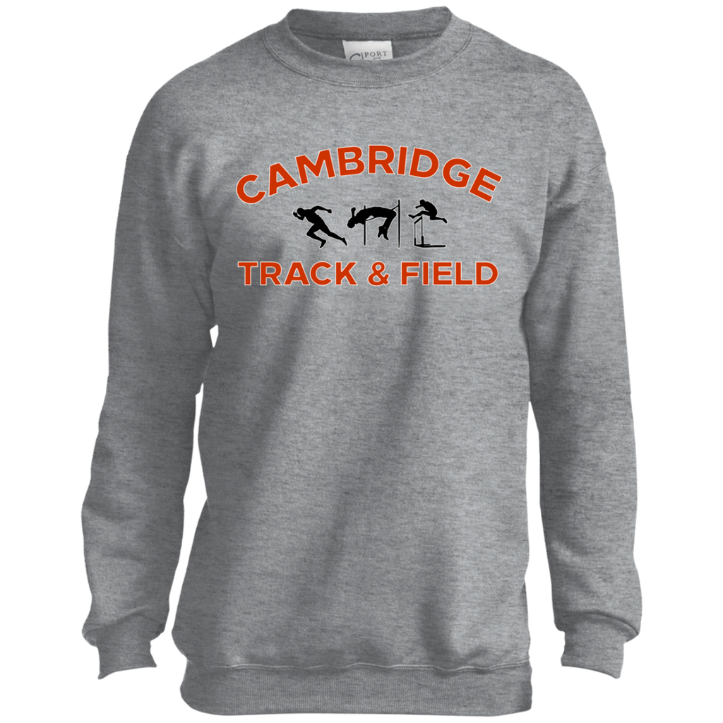 Youth Crewneck Sweatshirt - Cambridge Track & Field