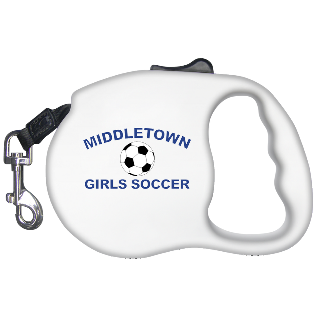 Retractable Dog Leash - Middletown Girls Soccer