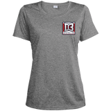Women's Heather Moisture Wicking T-Shirt - D3Football.com