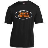 Men's Moisture Wicking T-Shirt - Corinth Football