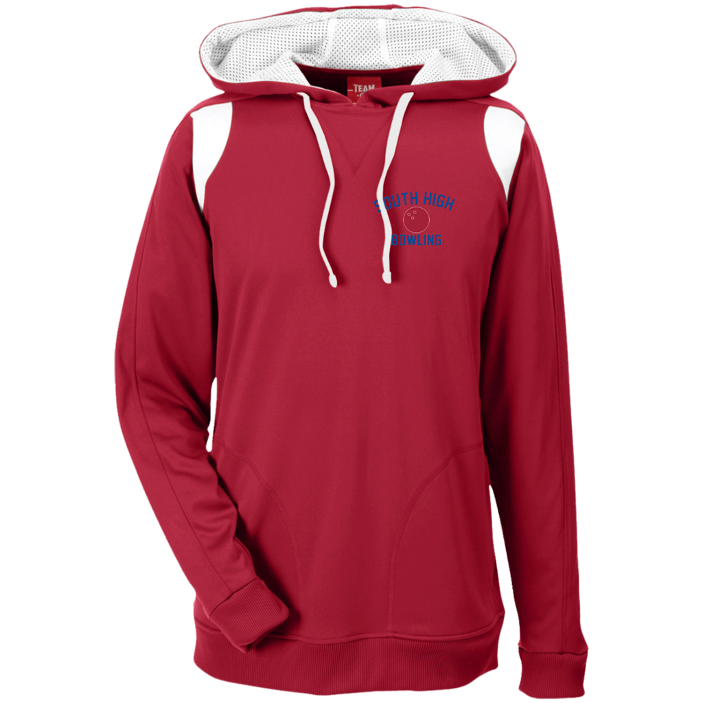 Men's Colorblock Hooded Sweatshirt - South Glens Falls Bowling