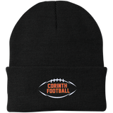 Knit Winter Hat - Corinth Football