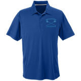 Men's Solid Moisture Wicking Polo - Middletown Girls Lacrosse - Sticks Logo
